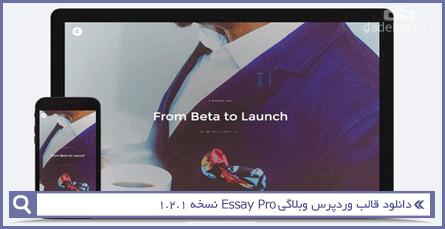 دانلود قالب وردپرس وبلاگی Essay Pro نسخه 1.2.1