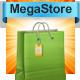 قالب وردپرس فروشگاهی مگا استور  mega store 1.5