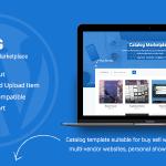 قالب وردپرس فروش فایل کاتالوگ Catalog | Buy Sell Marketplace v1.2