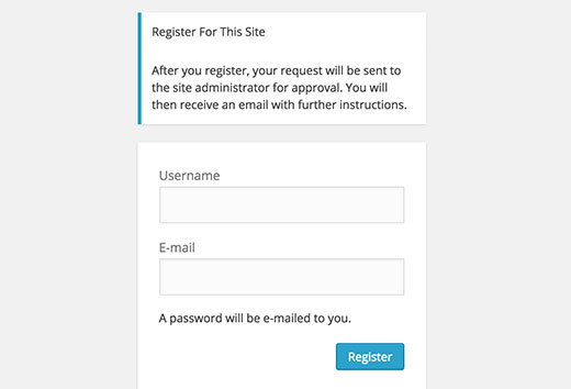 user-registration