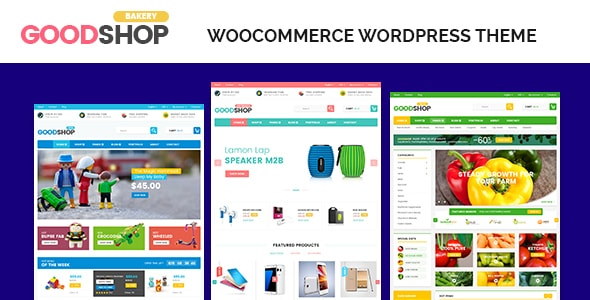 قالب وردپرس فروشگاهی goodshop